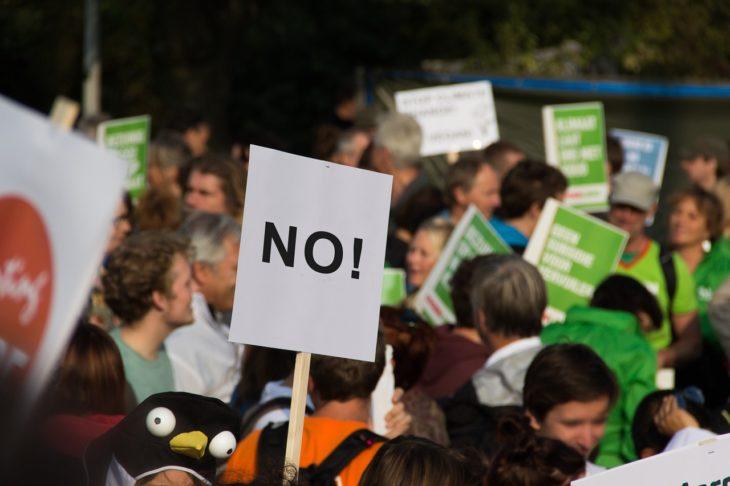 フランスでデモ活動をするときの手続き